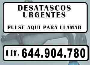 Desatascos Benissa Urgentes